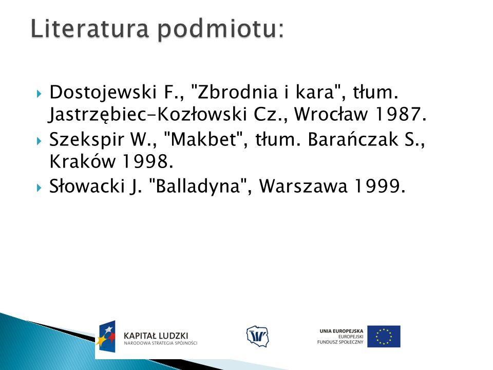 Dostojewski F.,