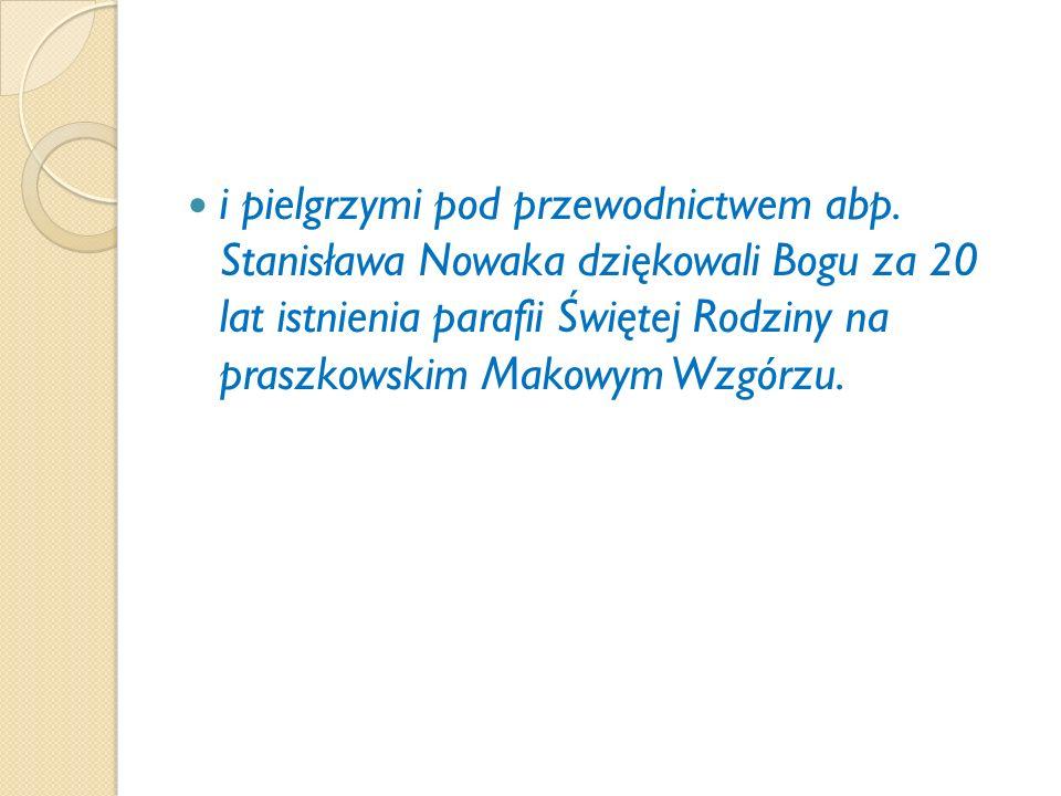Nowa kaplica na praszkowskiej Kalwarii W dniu 13 maja br na Kalwarii w Praszce rozpoczął się nowy półroczny cykl odprawiania uroczystych nabożeństw fatimskich.