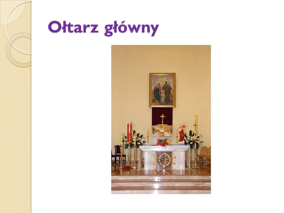 Prezbiterium Kościoła parafialnego św. Rodziny na Kalwarii w Praszce