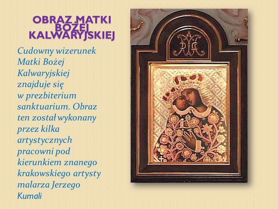 SANKTUARIUM W Praszkowskim sanktuarium znajduje się też odrębna kaplica Zmartwychwstania Pańskiego z ołtarzem Chrystusa Zmartwychwstałego