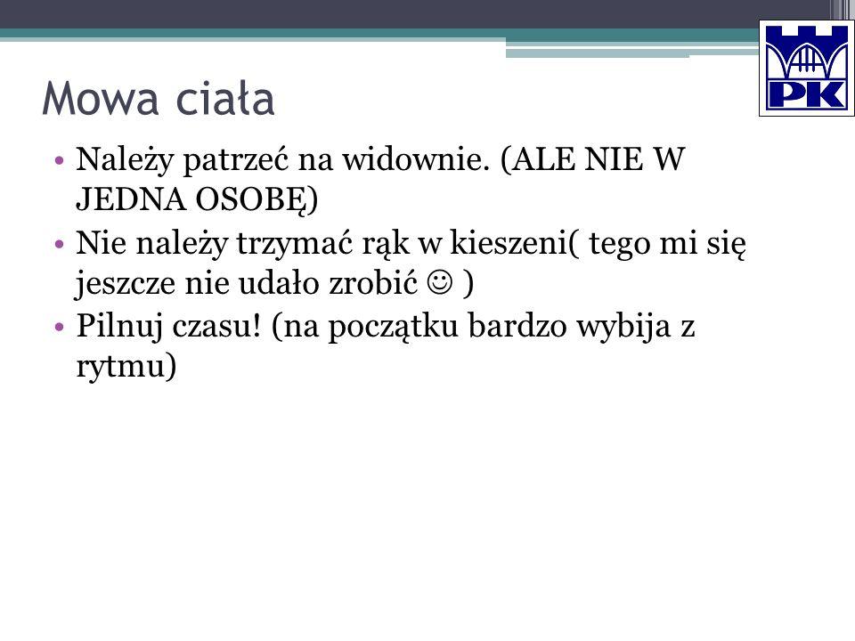 Cechy wybitnego wykładowcy Zna temat.