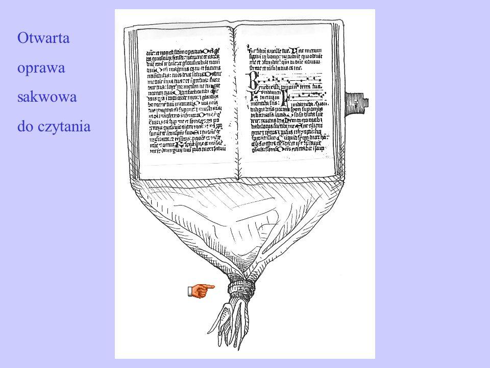 Otwarta oprawa sakwowa do czytania