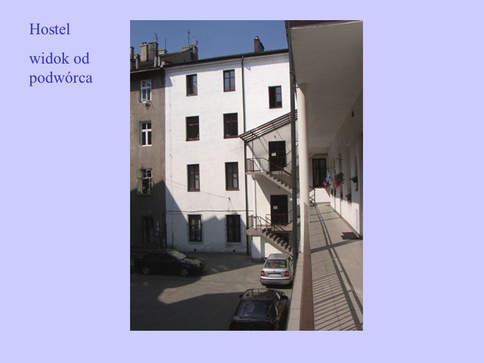 Hostel widok od podwórca