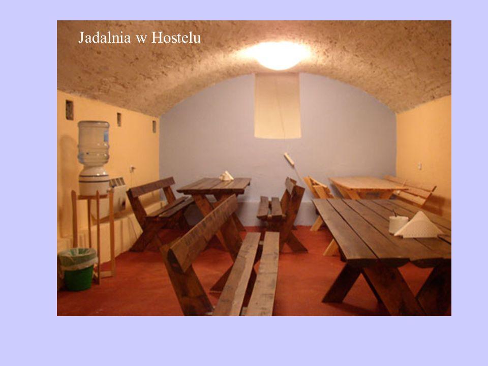 Jadalnia w Hostelu