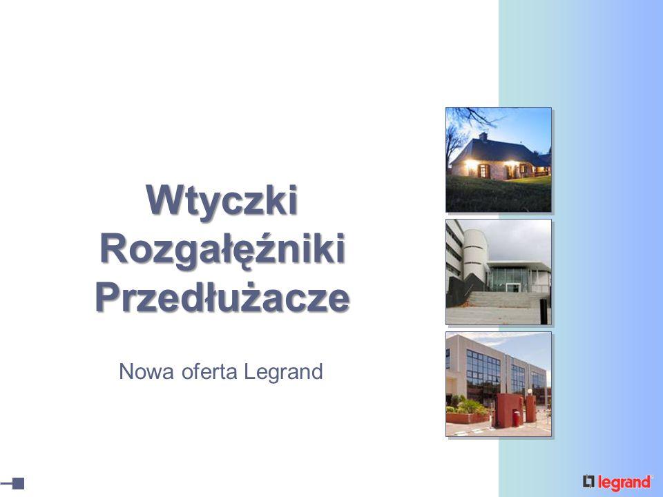 Wtyczki Rozgałęźniki Przedłużacze Nowa oferta Legrand