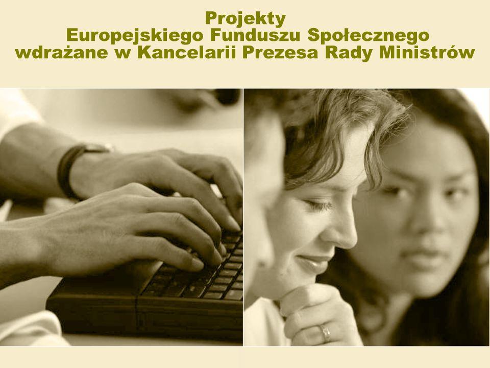 Plan Działania 2009 Liczba projektów: 13 (w tym kontynuowane 3) Budżet projektów ogółem 92 970 766,78 PLN Liczba projektów: 2 projekty kontynuowane Budżet projektów ogółem: 90 339 000,00 PLN Liczba projektów: 1 projekt kontynuowany Budżet projektu ogółem: 7 356 862,00 PLN Poddziałanie 5.1.2 Wdrażanie systemu zarządzania finansowego w ujęciu zadaniowym Poddziałanie 5.1.1 Modernizacja systemów zarządzania i podnoszenie kompetencji kadr Poddziałanie 5.1.3 Staże i szkolenia dla słuchaczy KSAP