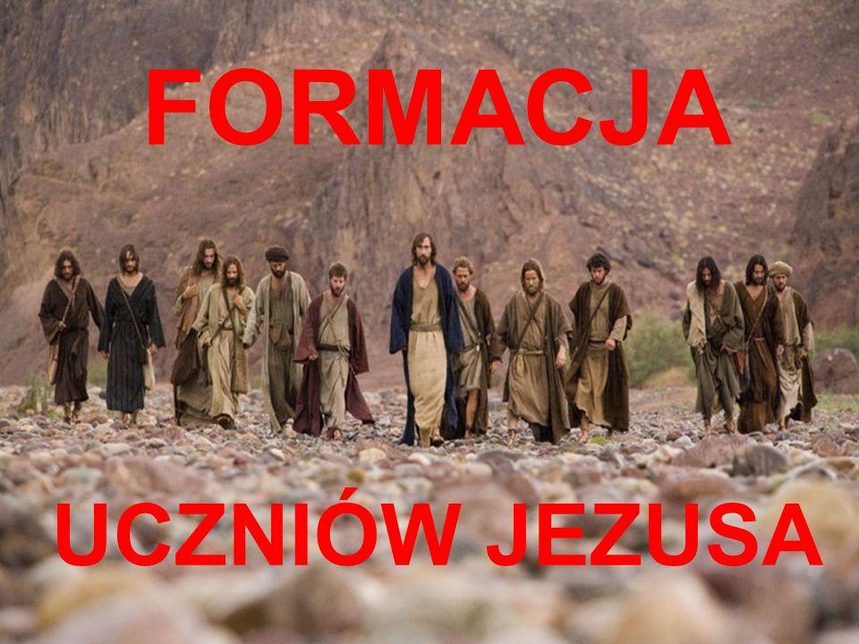 DZIĘKUJĘ ZA UWAGĘ FORMACJA UCZNIÓW JEZUSA