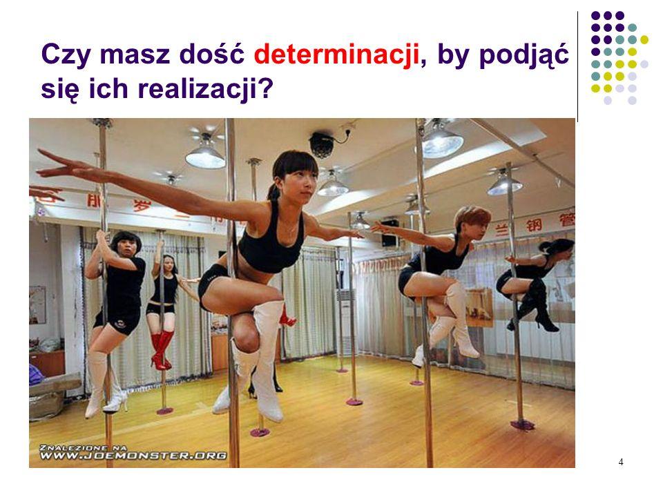 4 Czy masz dość determinacji, by podjąć się ich realizacji