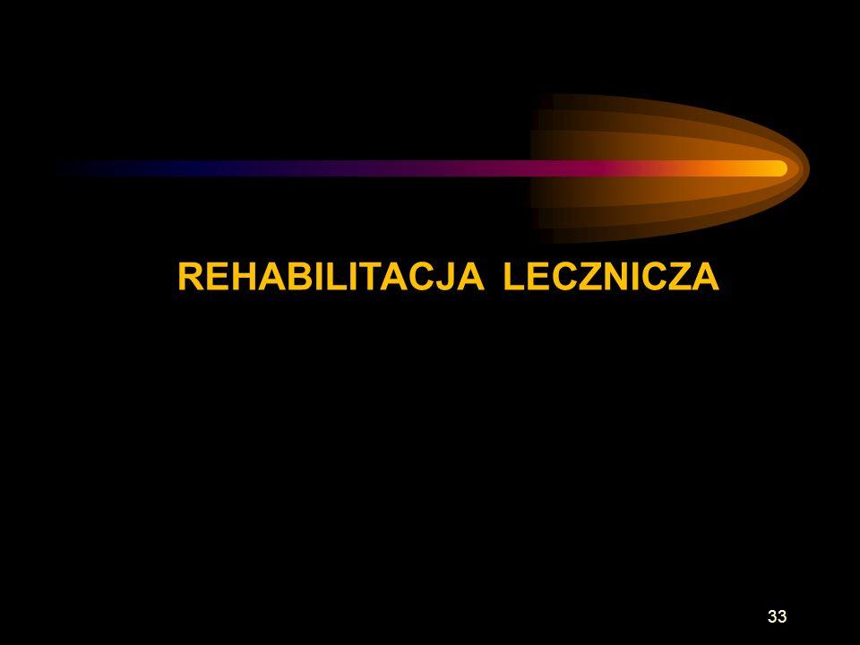 REHABILITACJA LECZNICZA 33