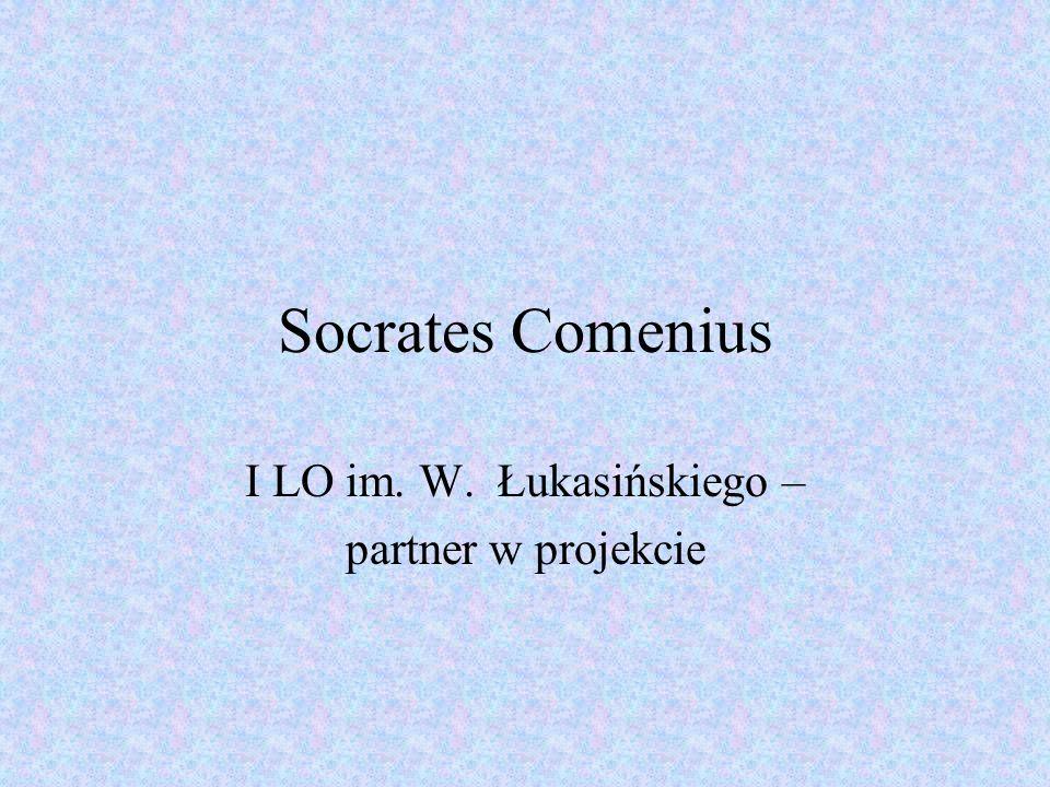 Socrates Comenius I LO im. W. Łukasińskiego – partner w projekcie