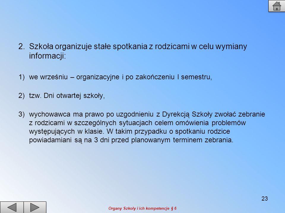 1.Organizację roku szkolnego określa rozporządzanie MENiS z dnia 18 kwietnia 2002 r.
