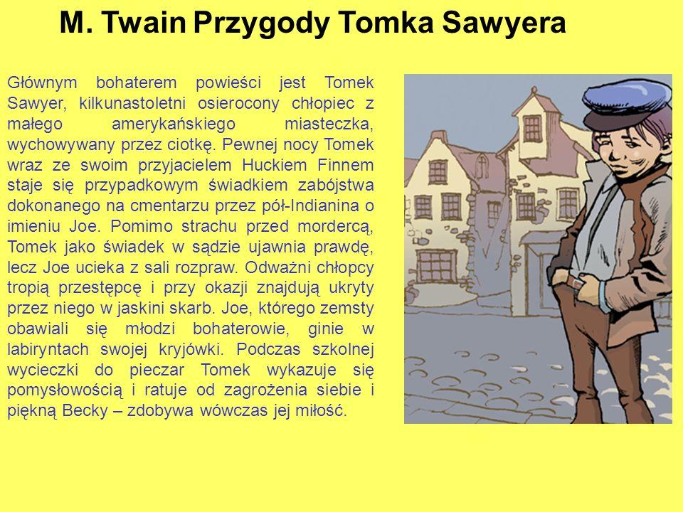 H. Sienkiewicz – W pustyni i w puszczy Powieść o niezwykłych przygodach czternastoletniego Stasia Tarkowskiego i ośmioletniej Nel Rawlison, którzy prz