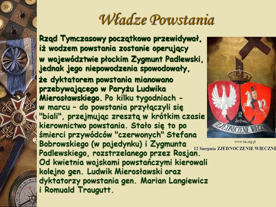 Walki powstańcze W Węgrowie Jan Matliński i Władysław Jabłonowski zebrali 3500 żołnierzy, w Siemiatyczach Władysław Cichorski zgromadził 3000 ludzi, o