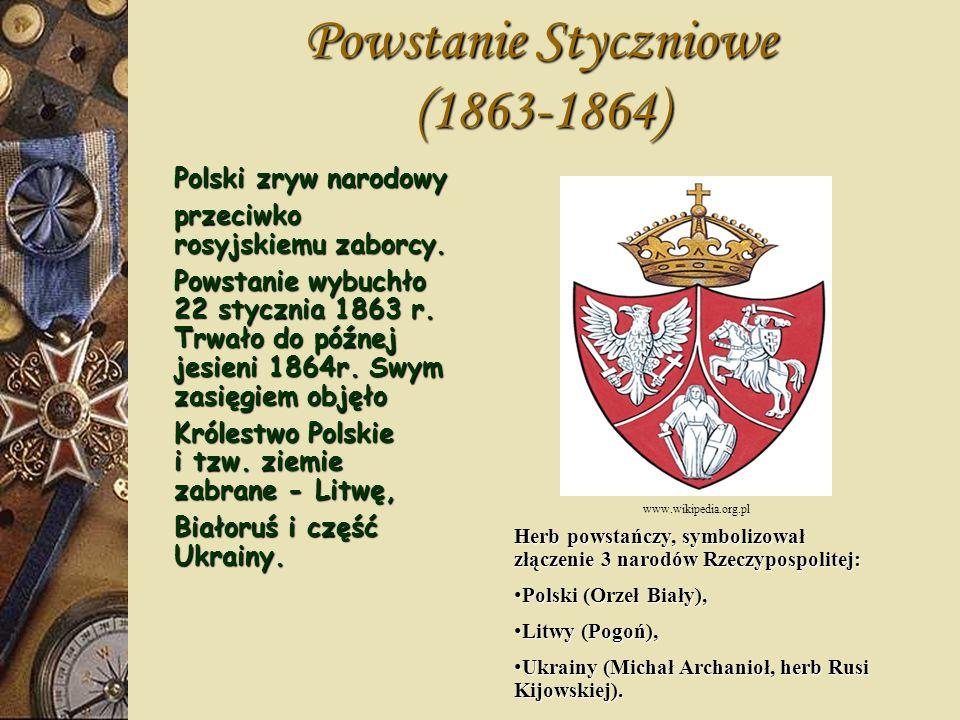 Powstanie Styczniowe 1863-1864