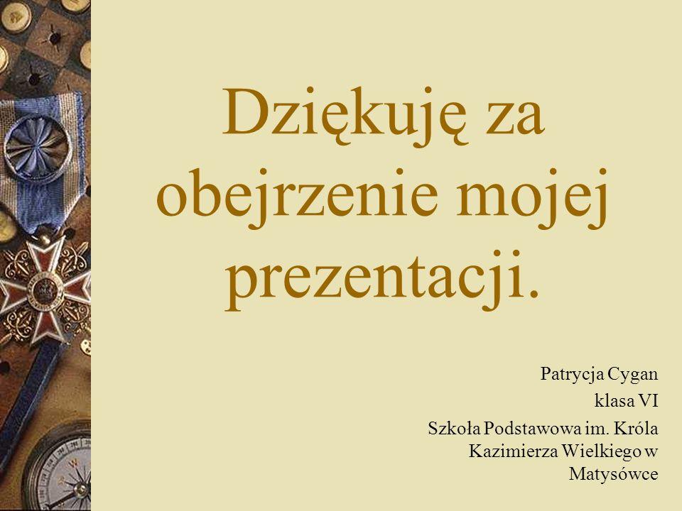 Bibliografia www.wikipedia.org.pl www.bn.org.pl www.historia.org.pl