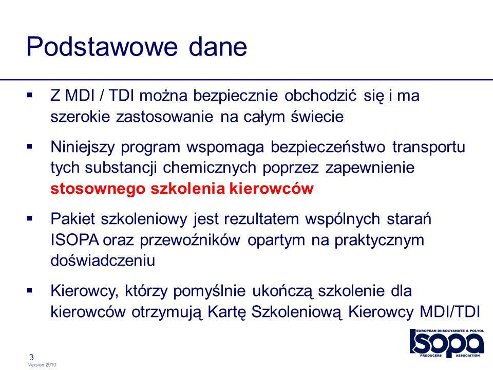 Version 2010 3 Podstawowe dane Z MDI / TDI można bezpiecznie obchodzić się i ma szerokie zastosowanie na całym świecie Niniejszy program wspomaga bezp