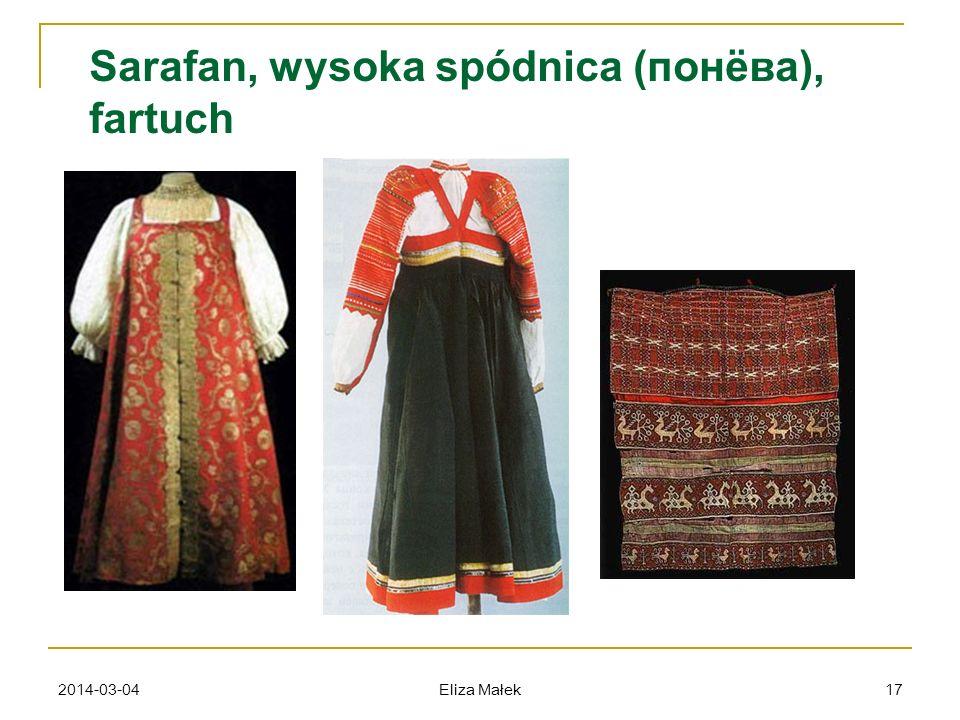 2014-03-04 Eliza Małek 17 Sarafan, wysoka spódnica (понёва), fartuch
