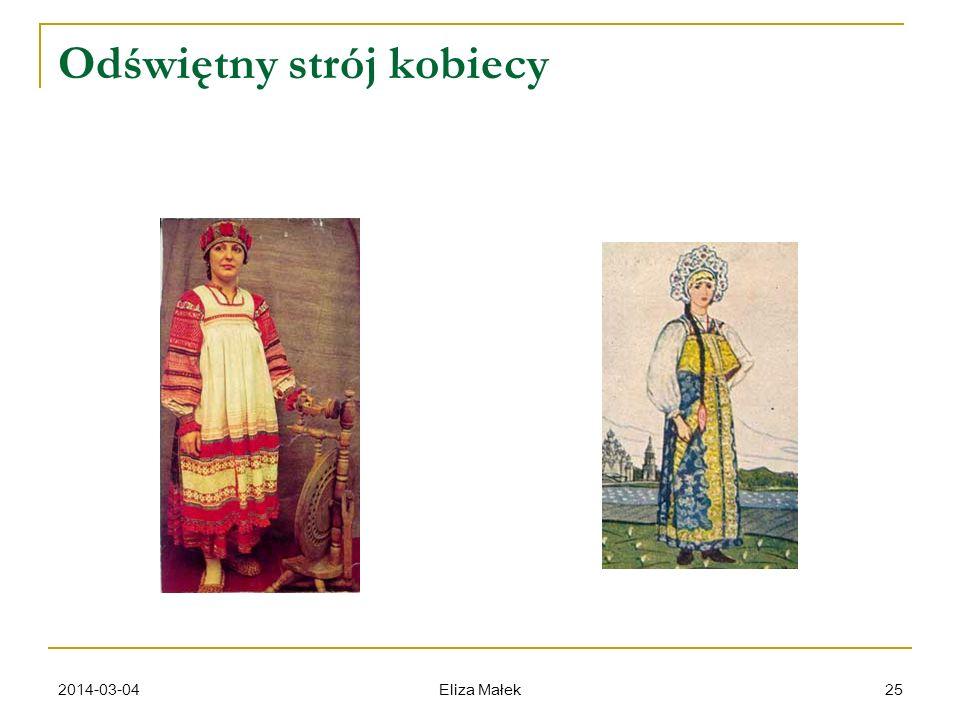 2014-03-04 Eliza Małek 25 Odświętny strój kobiecy