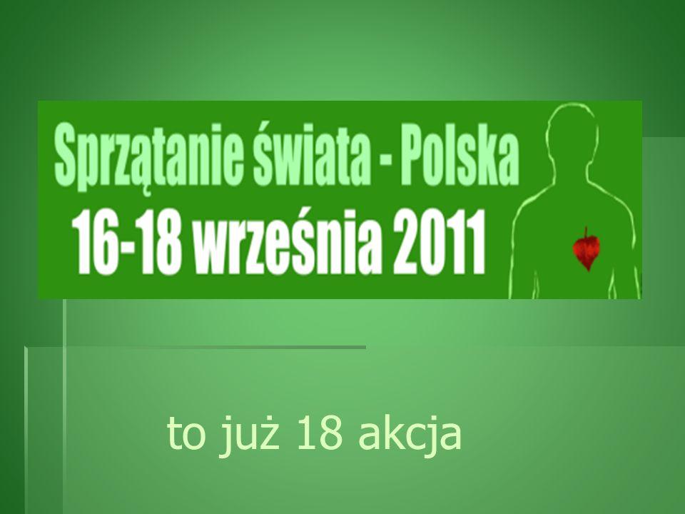 Hasło akcji 2011 r. LASY LASY TO ŻYCIE- TO ŻYCIE- CHROŃMY JE! CHROŃMY JE!