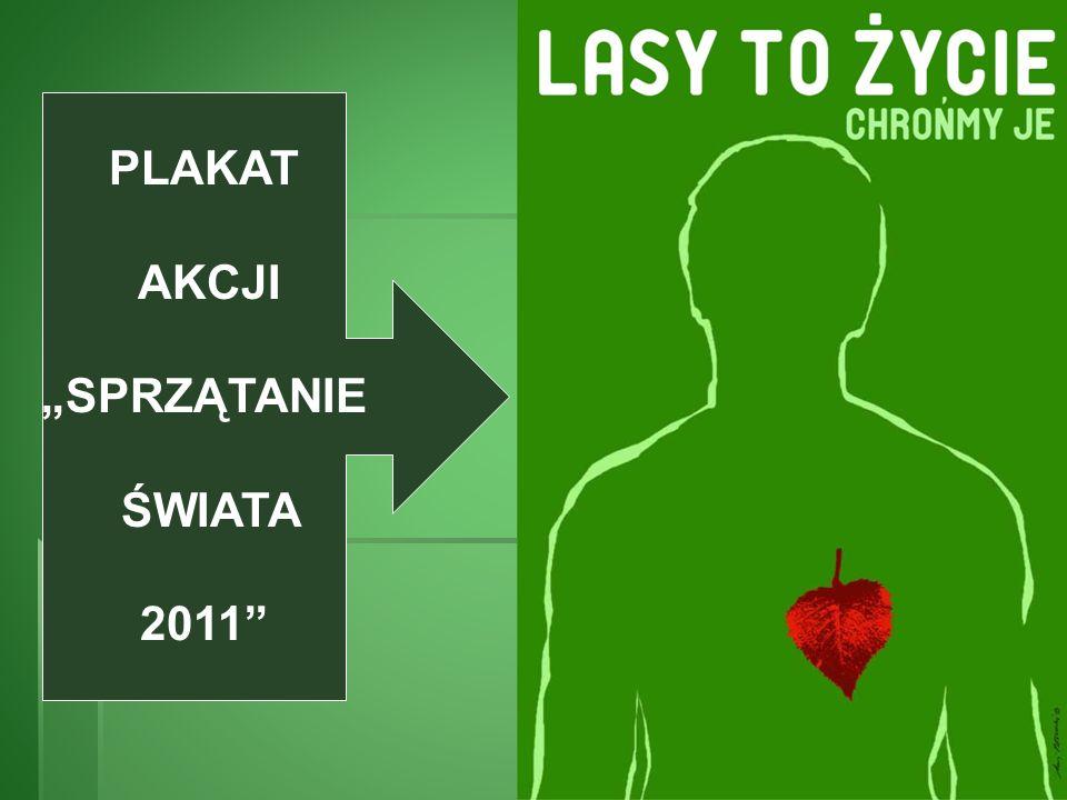 PLAKAT AKCJI SPRZĄTANIE ŚWIATA 2011