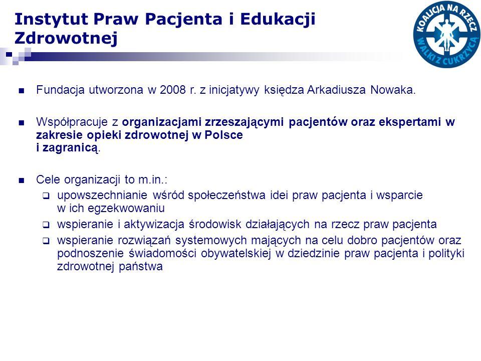 Fundacja utworzona w 2008 r. z inicjatywy księdza Arkadiusza Nowaka. Współpracuje z organizacjami zrzeszającymi pacjentów oraz ekspertami w zakresie o