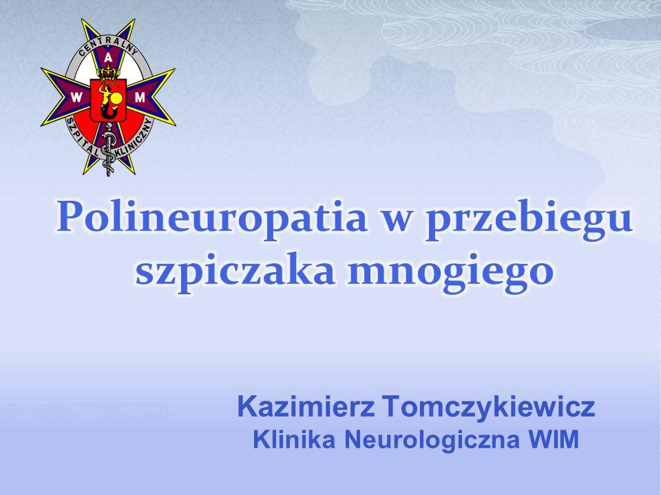 Kazimierz Tomczykiewicz Klinika Neurologiczna WIM
