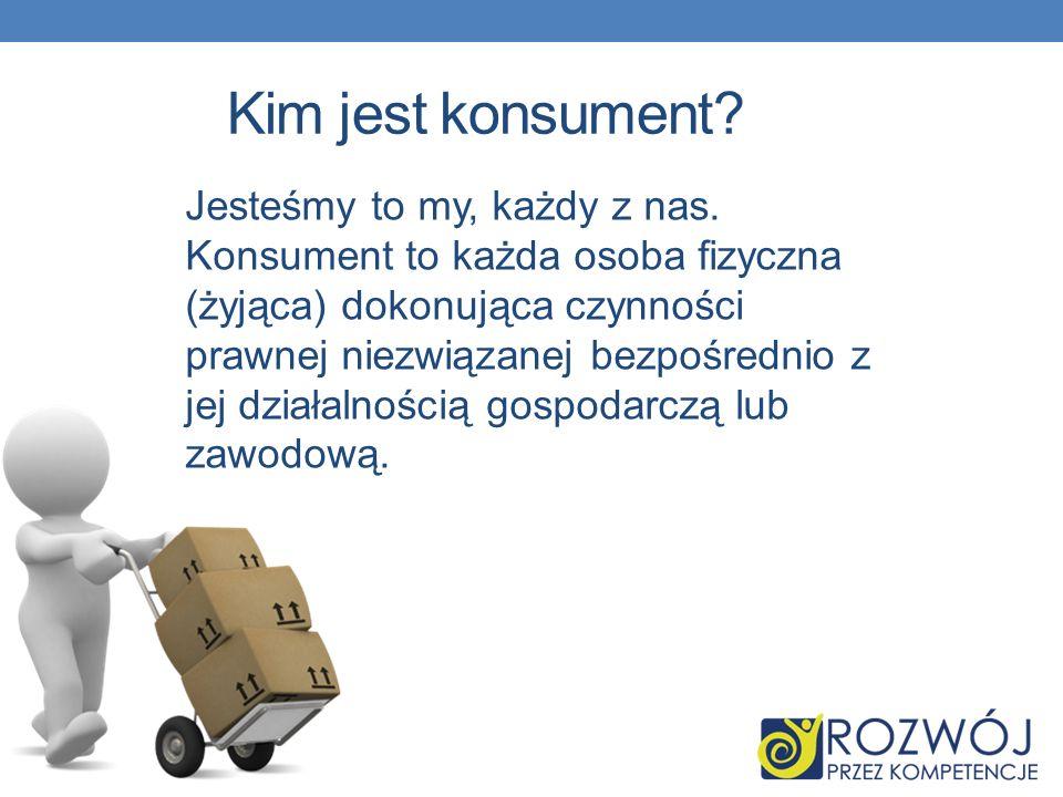 Stowarzyszenie Konsumentów Polskich Cel rozwijanie świadomości konsumentów w zakresie posiadanego przez nich prawa do bezpieczeństwa i ochrony zdrowia, informacji, edukacji i reprezentacji, jak również ochrony ich interesów ekonomicznych i prawnych.