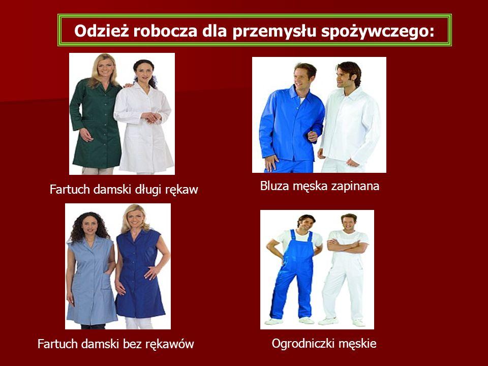 Fartuch damski długi rękaw Bluza męska zapinana Odzież robocza dla przemysłu spożywczego: Ogrodniczki męskie Fartuch damski bez rękawów