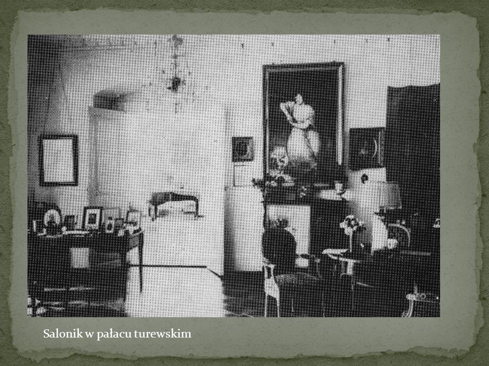 Salonik w pałacu turewskim