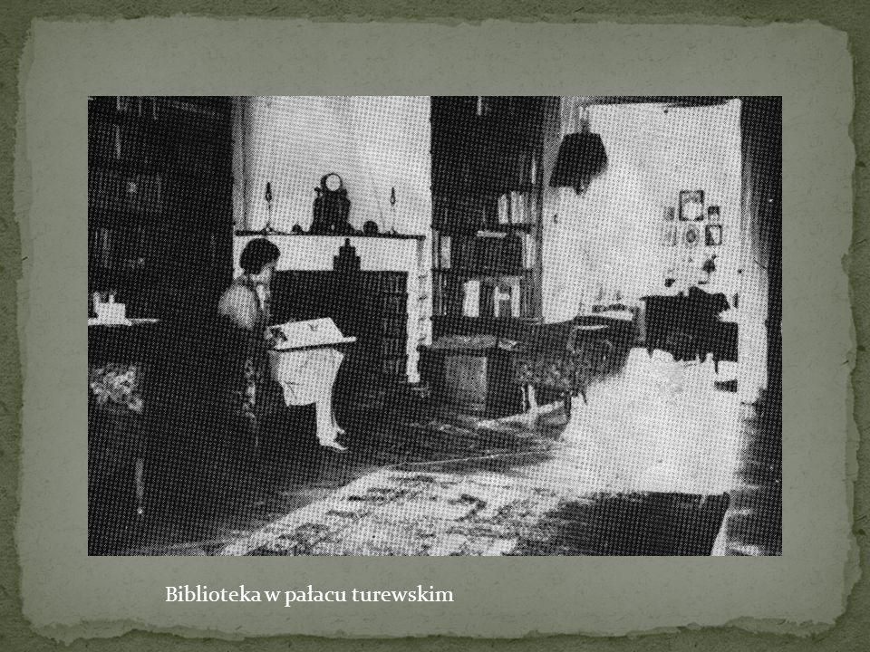 Biblioteka w pałacu turewskim