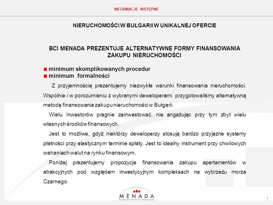 Click to edit the title text format PROPOZYCJA APARTAMENTU – HOLIDAY FORT GOLF CLUB STUDIO 112 TYP: STUDIO CENA: 35 240 EURO TERMIN ODDANIA: GOTOWE POW.