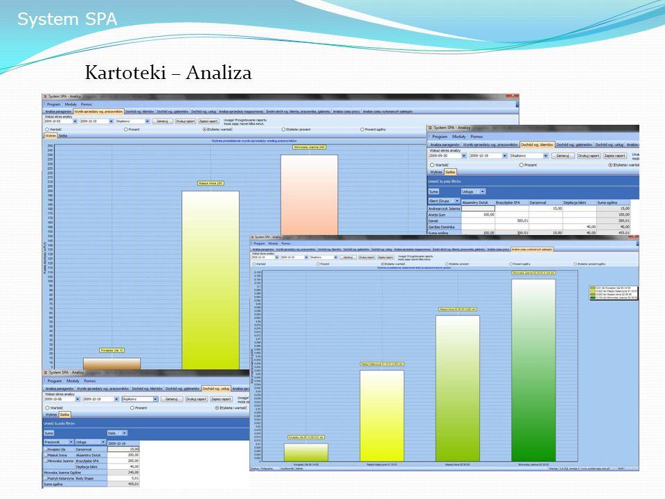 System SPA Kartoteki – Analiza