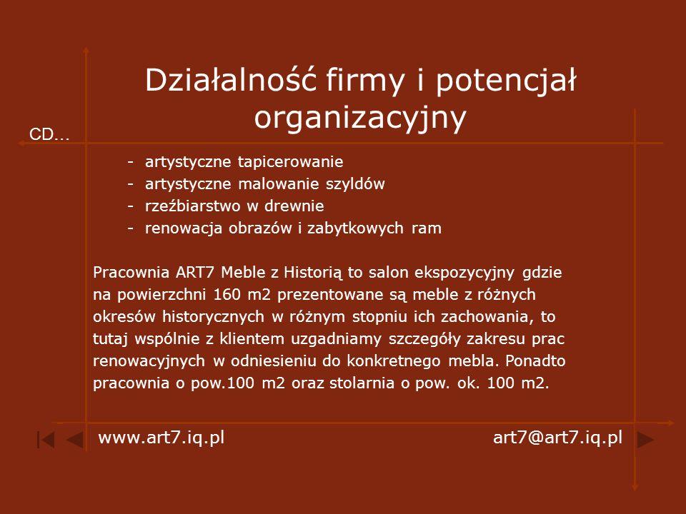 Meble malowane www.art7.iq.plart7@art7.iq.pl Info