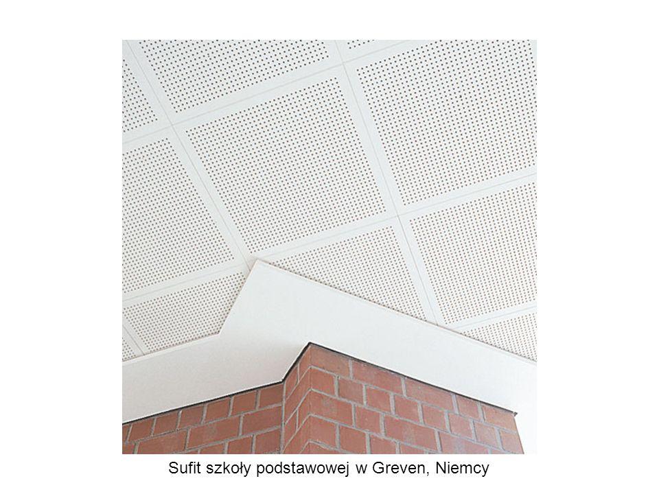 Sufit szkoły podstawowej w Greven, Niemcy