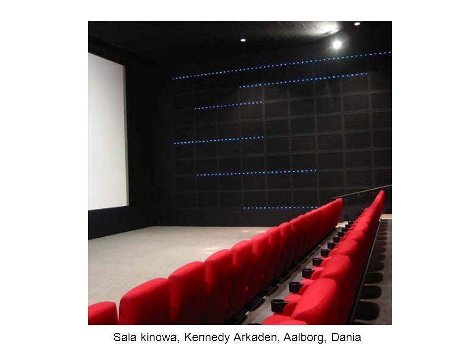 Sala kinowa, Kennedy Arkaden, Aalborg, Dania