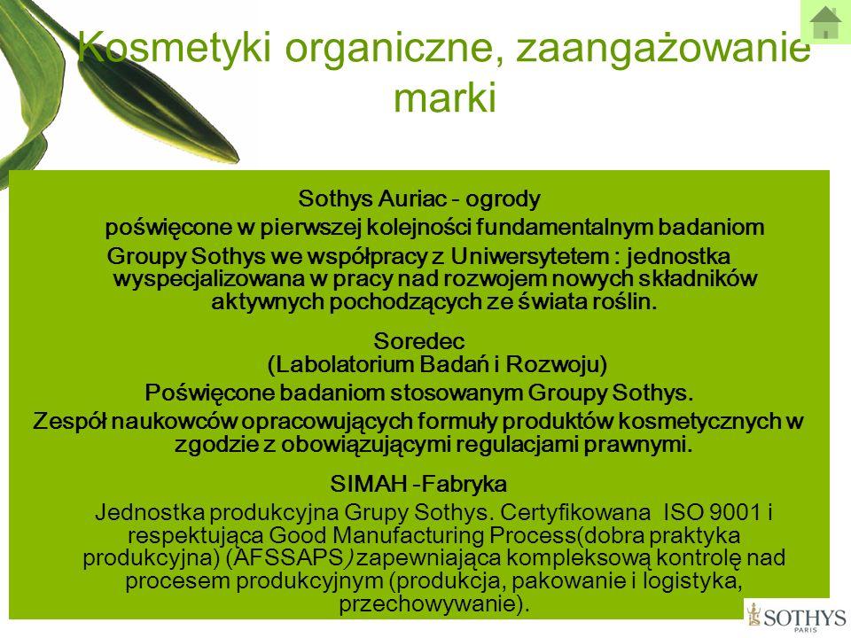 Kosmetyki organiczne, zaangażowanie marki Sothys Auriac - ogrody poświęcone w pierwszej kolejności fundamentalnym badaniom Groupy Sothys we współpracy