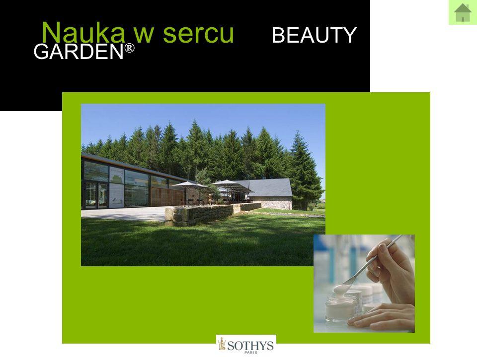 BEAUTY GARDEN ® Natura według Sothys Naturalna przyjemność Konsystencja, zapach - ponieważ kosmetyki w pierwszej kolejności mają dawać przyjemność Opakowania, zbliżone do konwencjonalnych kosmetyków.