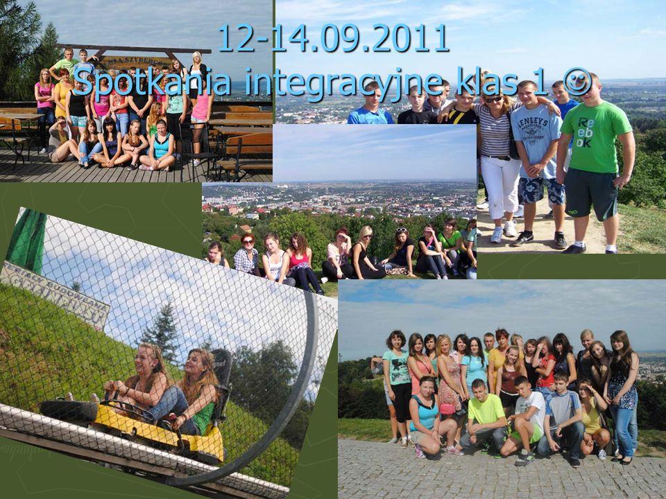 12-14.09.2011 Spotkania integracyjne klas 1 12-14.09.2011 Spotkania integracyjne klas 1