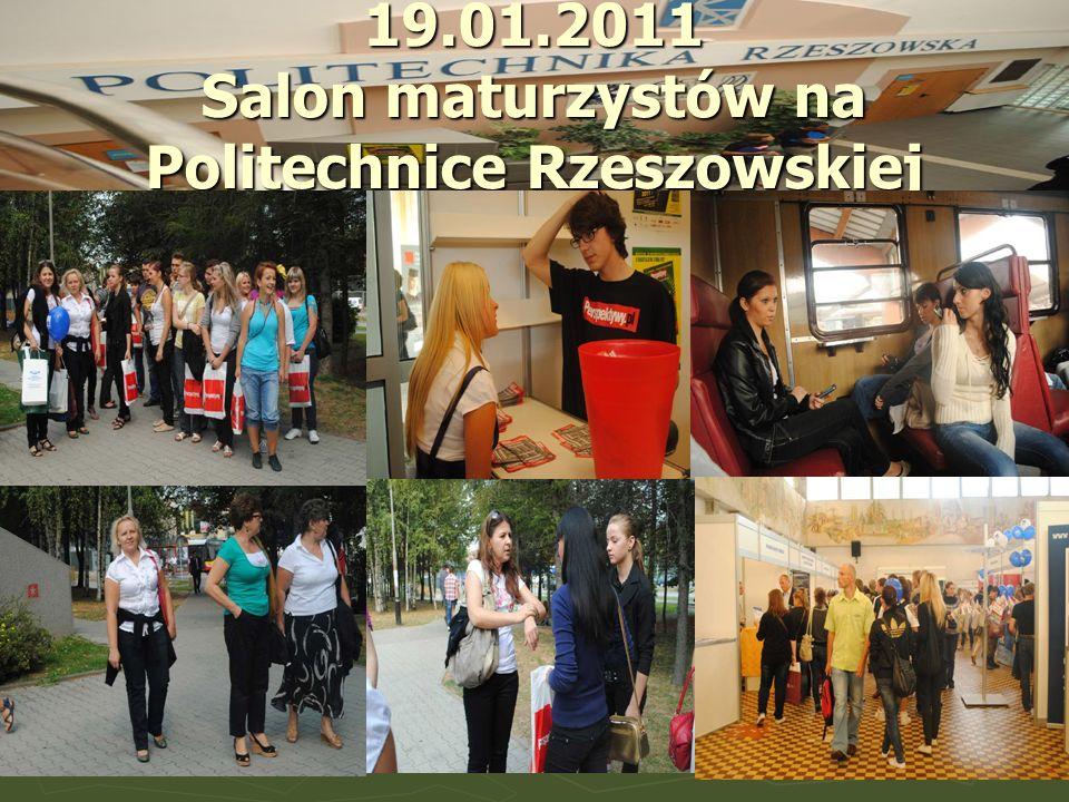 19.01.2011 Salon maturzystów na Politechnice Rzeszowskiej