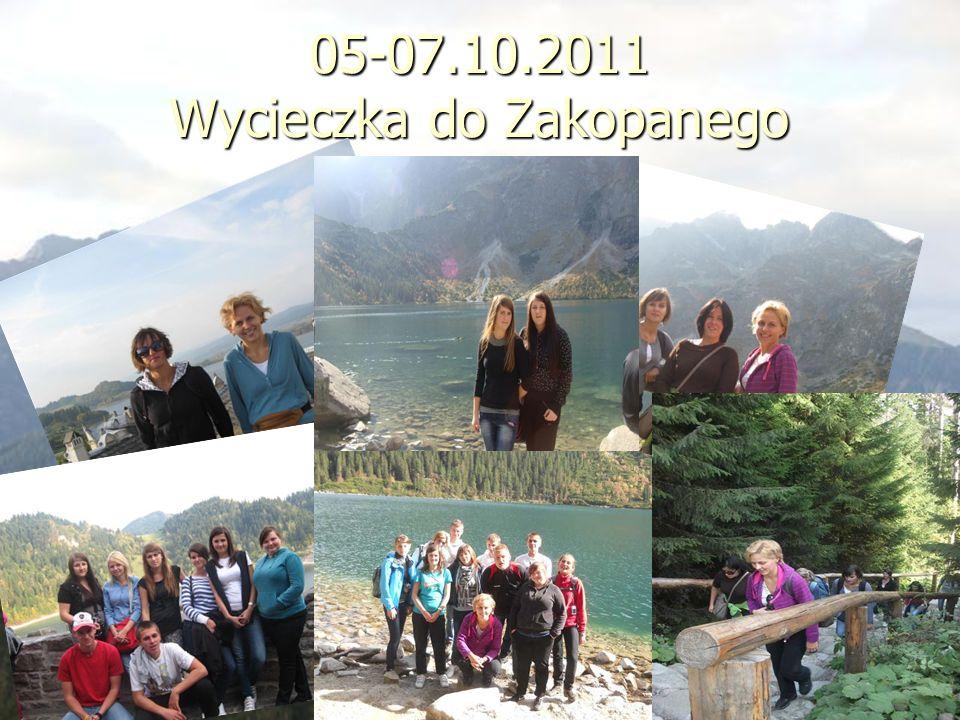 05-07.10.2011 Wycieczka do Zakopanego