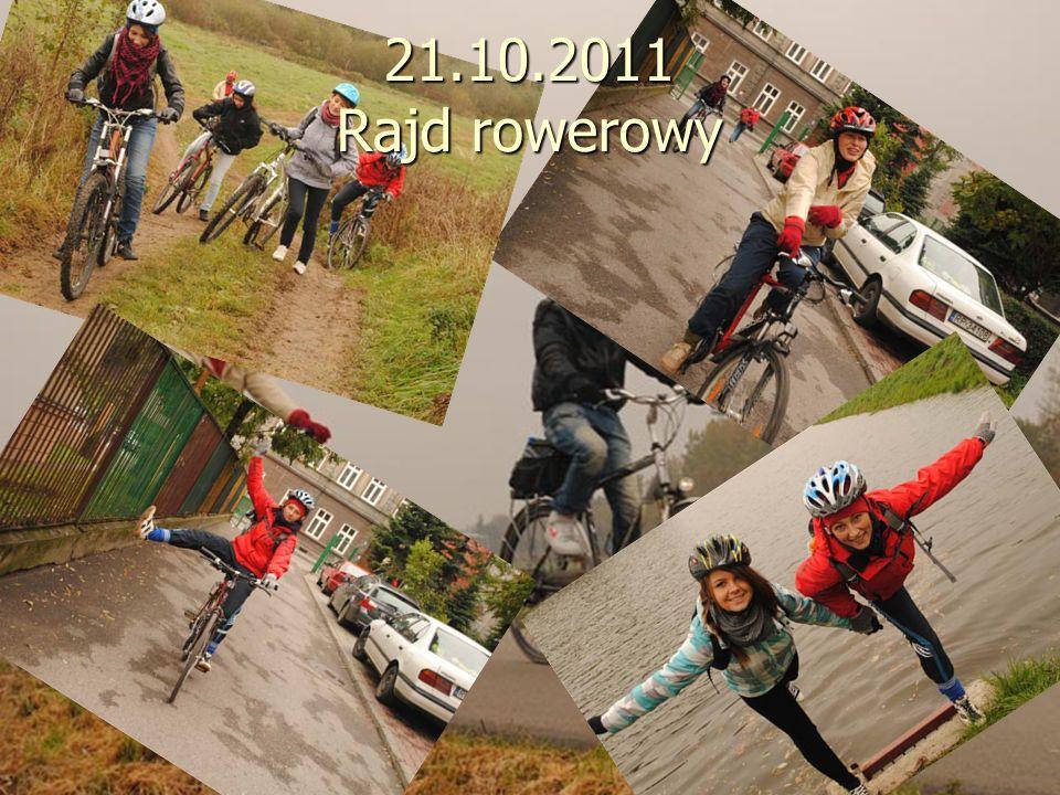 21.10.2011 Rajd rowerowy
