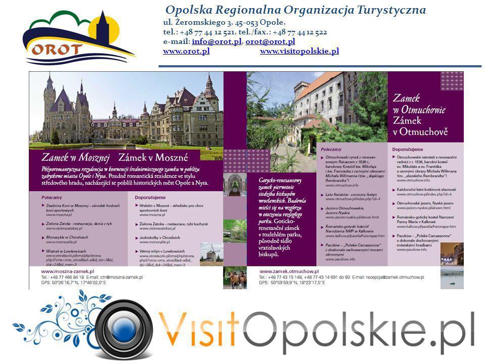 Opolska Regionalna Organizacja Turystyczna ul.