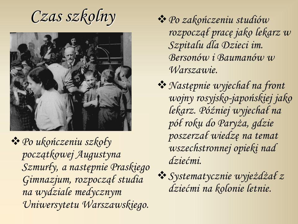 Po ukończeniu szkoły początkowej Augustyna Szmurły, a następnie Praskiego Gimnazjum, rozpoczął studia na wydziale medycznym Uniwersytetu Warszawskiego