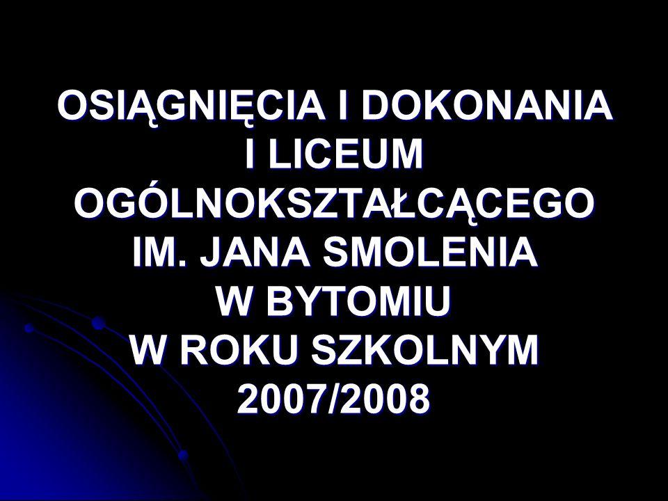 9.Jasełka 9. Jasełka 10. Bal Studniówkowy 11. Szkolny Konkurs Mistrz Gramatyki Niemieckiej 12.