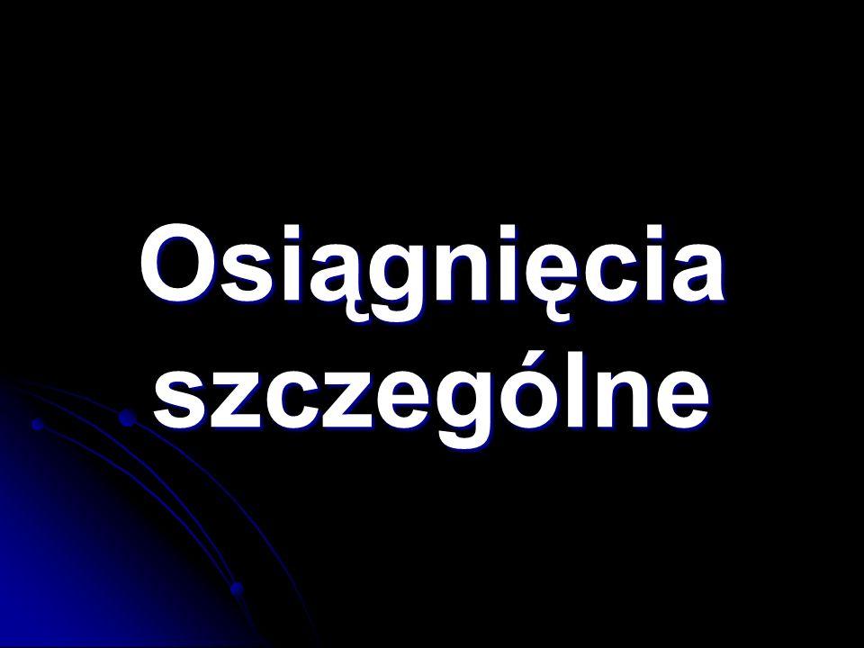 13.Koło Języka Angielskiego 14. Koło Olimpijczyka Języka Angielskiego 15.