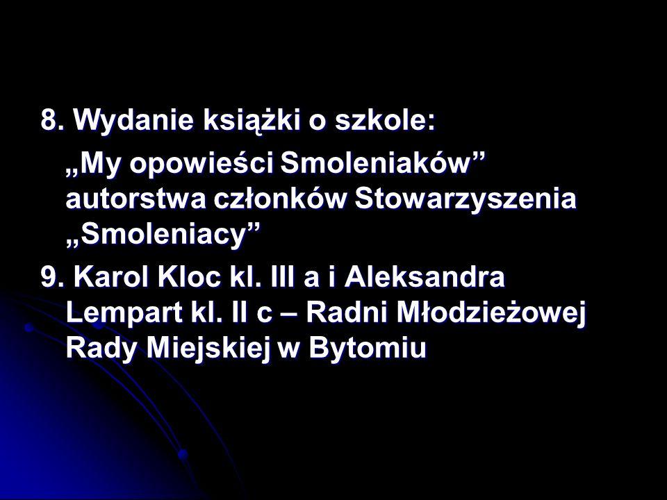 Miniprzedsiębiorstwo EDI – główna nagroda w Ogólnopolskim Konkursie na Najlepsze Miniprzedsiębiorstwo Miniprzedsiębiorstwo Reflections- II miejsce w Europejskim Konkursie Odpowiedzialny Biznes Kornel Gajewski kl.