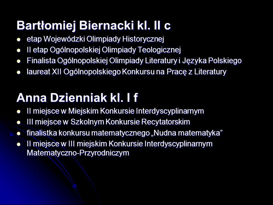 Bartłomiej Biernacki kl.
