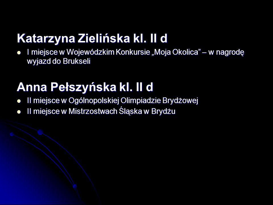 Katarzyna Zielińska kl.