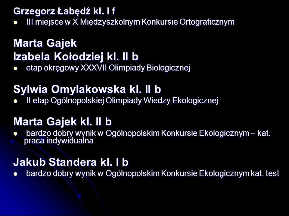 Grzegorz Łabędź kl.