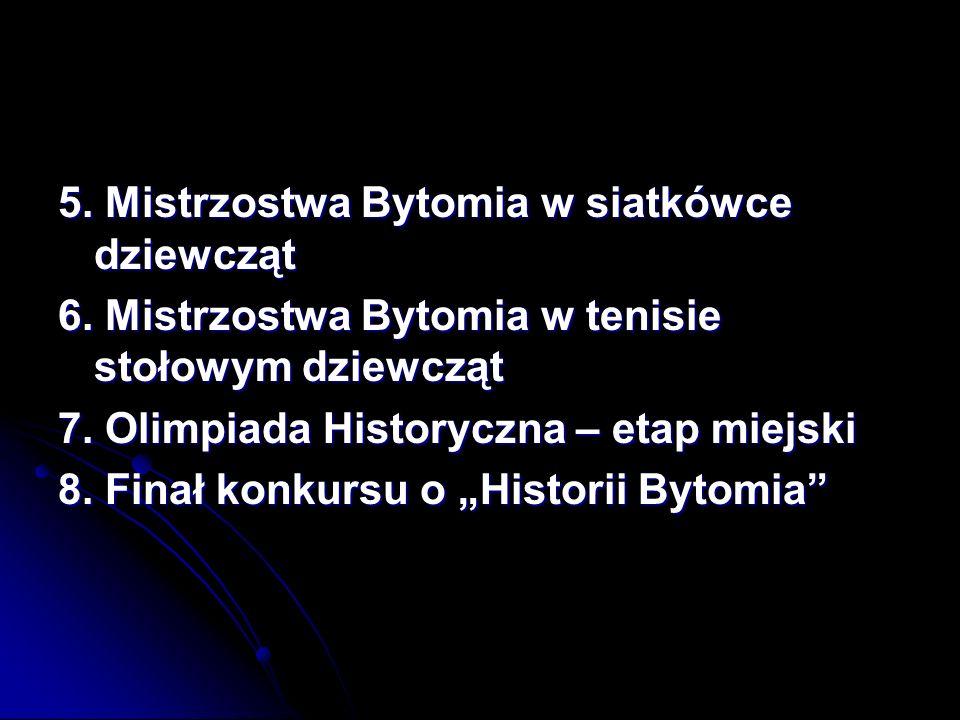 Chór szkolny I miejsce w miejskim Konkursie Przeglądu Pieśni Patriotycznych Zuzanna Rosmus kl.